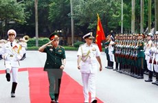 Presidente del Comité de Jefes de Estado Mayor de India visita Vietnam