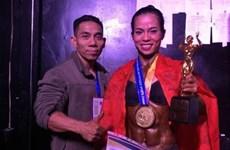 Gana Vietnam cuatro medallas de oro en campeonato de fisiculturismo