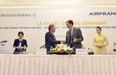 Vietnam Airlines y Air France firman acuerdo de cooperación integral