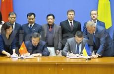 Efectúan reunión 14 de Comisión Intergubernamental Vietnam- Ucrania