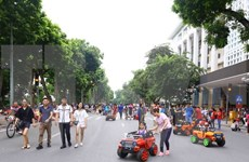 Hanoi amplía área peatonal en fines de semana