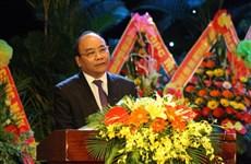 Premier vietnamita asiste al acto conmemorativo por establecimiento de Comité regional de PCV Quang Da