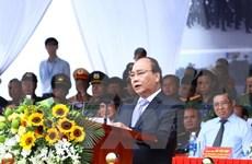 Premier vietnamita supervisa maniobra antiterrorista por Semana de APEC