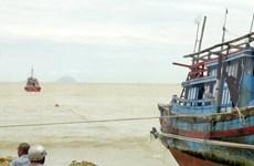 Rescatan a 10 pescadores vietnamitas accidentados en el mar nacional