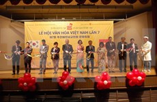 Celebran en Sudcorea Festival de Cultura vietnamita