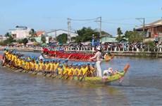 Celebran en Vietnam festival Ok Om Bok de etnia Khmer