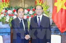 Presidente de Vietnam reitera papel de empresas en fortalecimiento de nexos con Japón