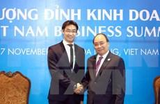 Premier de Vietnam aboga por cooperación con Foro Económico Mundial