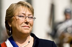 Visita de la presidenta Bachelet profundizará nexos de asociación integral Vietnam- Chile