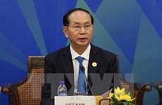 Presidente de Vietnam interviene en el Diálogo APEC- ABAC