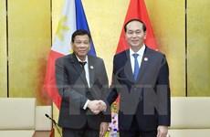 APEC 2017: Vietnam y Filipinas acuerdan impulsar asociación bilateral