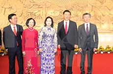 Presidente Xi Jinping inaugura Palacio de Amistad Vietnam-China en Hanoi