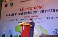 Vietnam impulsa actividades de prevención de resistencia a antibióticos