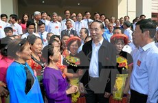 Presidente de Vietnam destaca unidad nacional como raíz de fuerza del pueblo