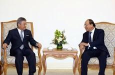 Premier de Vietnam recibe a presidente del grupo japonés Nikkei
