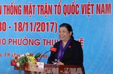 Localidades vietnamitas celebran Fiesta de Unidad Nacional