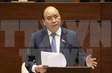 Premier de Vietnam comparece ante el Parlamento