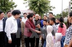 Presidenta del Parlamento vietnamita llama a impulsar modernización de zonas rurales