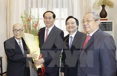 Presidente de Vietnam felicita a veteranos profesores en Día Nacional del Maestro