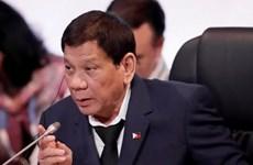 Presidente filipino Rodrigo Duterte llama a la rendición de insurgentes