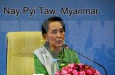 Consejera de Estado de Myanmar visitará China