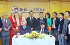 Vicepremier vietnamita recibe a representantes de Asociación de la Prensa Extranjera