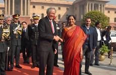 Singapur e India firman un pacto naval