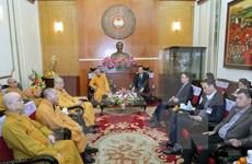 Saludan contribuciones de Sangha Budista de Vietnam en desarrollo nacional