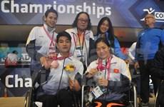 Vietnam gana otras medallas en campeonato mundial de para-natación en México