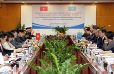 Vietnam y Kazajstán refuerzan relaciones comerciales