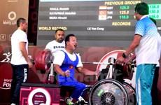 Pesista vietnamita establece nuevo récord mundial en campeonato para minusválidos en México