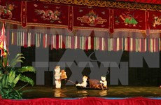 Arte de marionetas acuáticas vietnamitas conquista al público francés