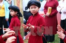 Honran a canto Xoan de Vietnam como Patrimonio Cultural Intangible de la humanidad