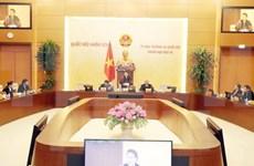 Inician XIX reunión del Comité Permanente del Parlamento vietnamita