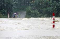Entregan regalos a alumnos afectados por desastres naturales en Quang Nam