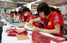 Exportaciones de industria textil de Vietnam crecerían 10,23 por ciento en 2017