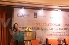 Elevan conciencia de países de ASEAN sobre derechos de trabajadores migrantes
