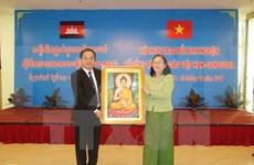 Vietnam y Camboya intercambian experiencia en gestión religiosa