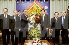 Vicepremier vietnamita felicita a comunidad religiosa por Navidad