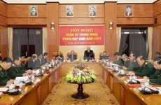Líder partidista vietnamita orienta nuevas misiones militares para 2018