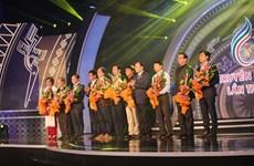 Concluyen Festival nacional de Televisión de Vietnam