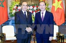 Presidente de Vietnam da bienvenida a inversores marroquíes