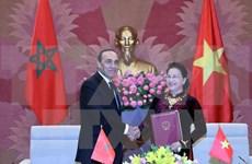 Resaltan acuerdo de fomentar lazos parlamentarios Vietnam- Marruecos