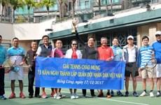 Efectúan actividades deportivas en Hong Kong (China) en saludo a la fundación del Ejército Popular vietnamita