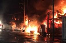 Prestan atención a respaldar a familias de víctimas mortales del incendio en Taiwán (China)
