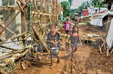 Tifón Kai- Tak cobra vida de al menos 31 personas en Filipinas
