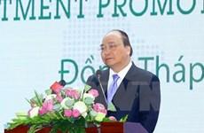 Premier de Vietnam destaca entorno de inversión en Dong Thap