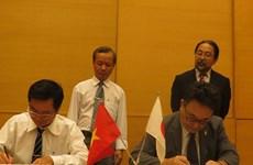 Japón ofrece ayuda no reembolsable para cinco proyectos en Vietnam