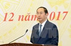 Presidente de Vietnam insta a avanzar en la reforma judicial