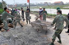 Vietnam supera meta anual de construcción de nuevas zonas rurales